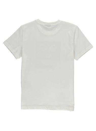 Hummel Çocuk Tişört Marsino 910927-9003 Beyaz
